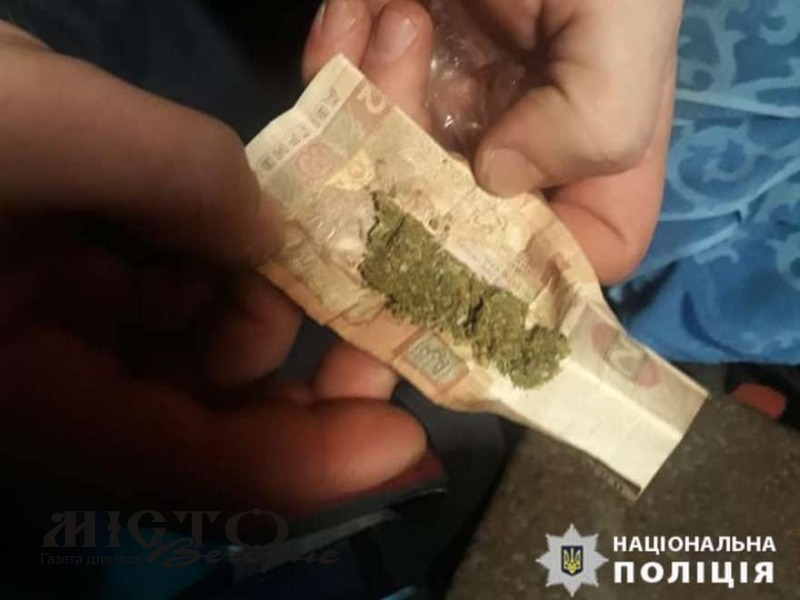 У Володимирі правоохоронці затримали особу з наркотичними речовинами