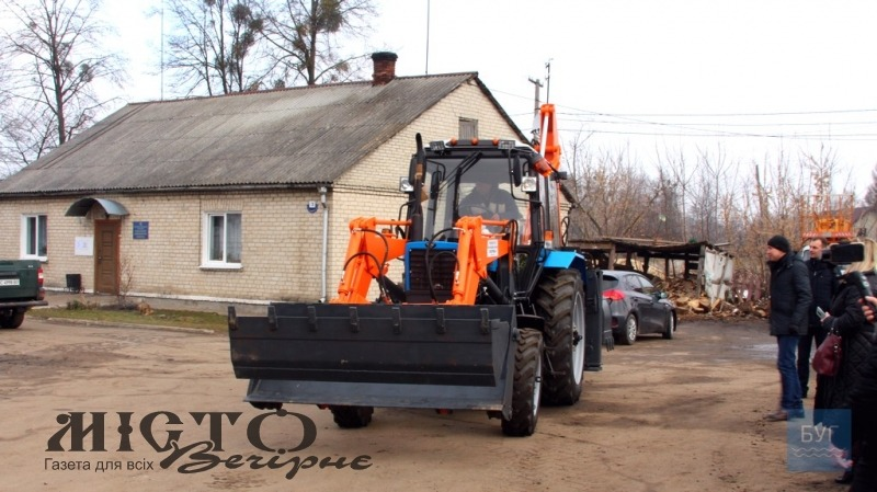 В КП «Полігон» у Володимирі-Волинському придбали новий навантажувач
