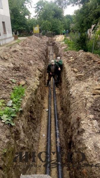 У Володимирі замінили тепломагістралі у районі цукрового заводу