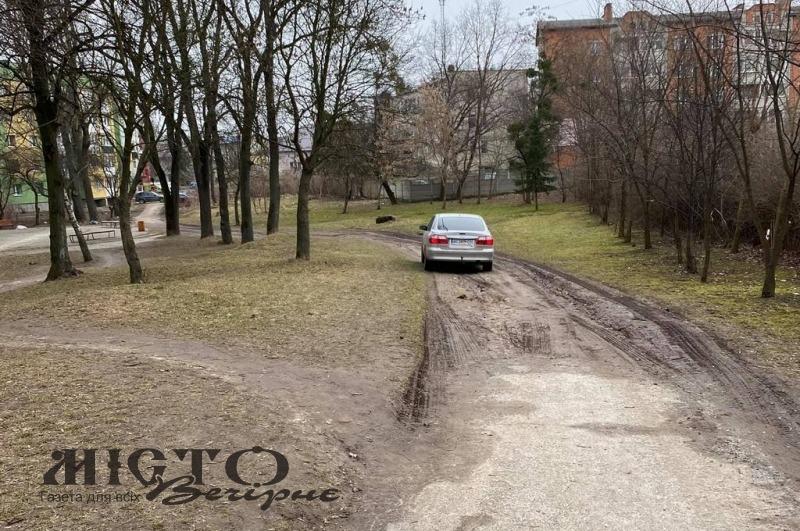 Парки у Володимирі повинні бути пішохідними