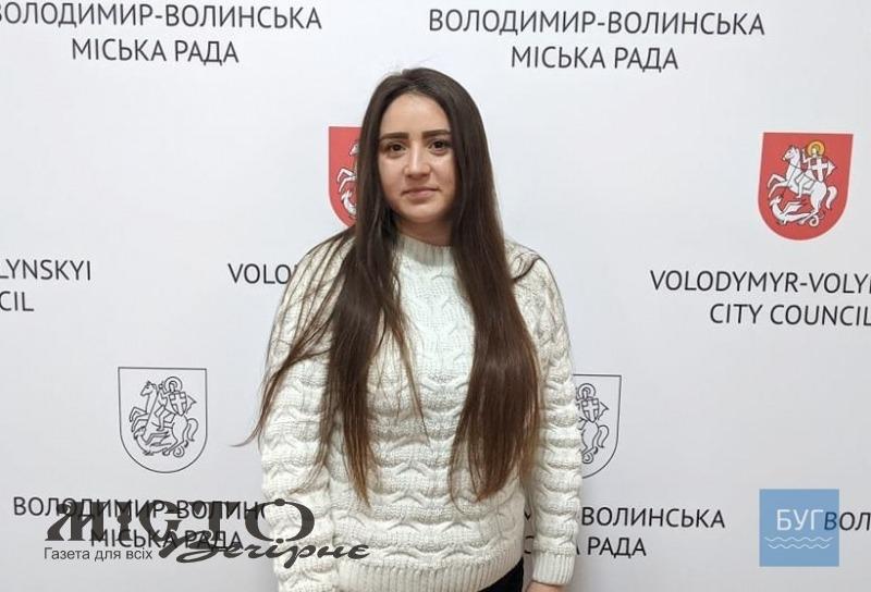 У Володимир-Волинському міськвиконкомі новим начальником роботи з кадрами стала Насіба Мірзоєва