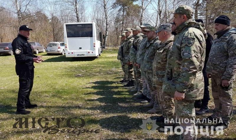На полігоні Володимира поліція Волині провела навчання