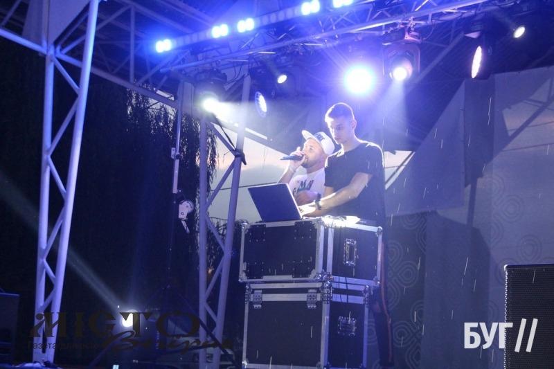 У Володимирі відбулась святкова дискотека до Дня міста