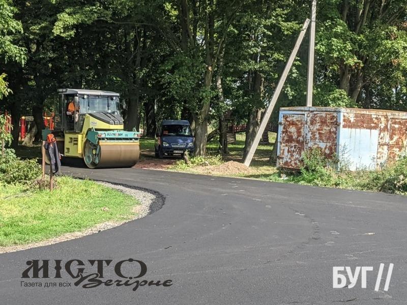 У селі Заріччя ремонтують дорогу
