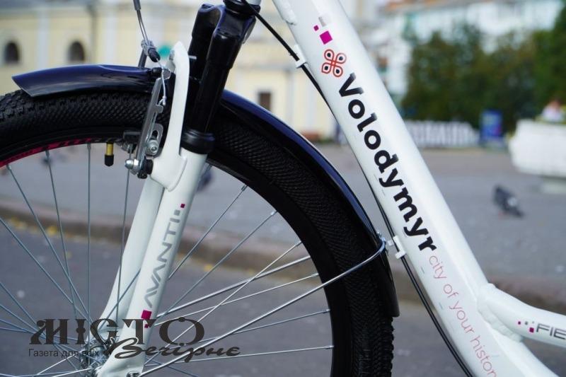 У Володимирі запрацював прокат велосипедів