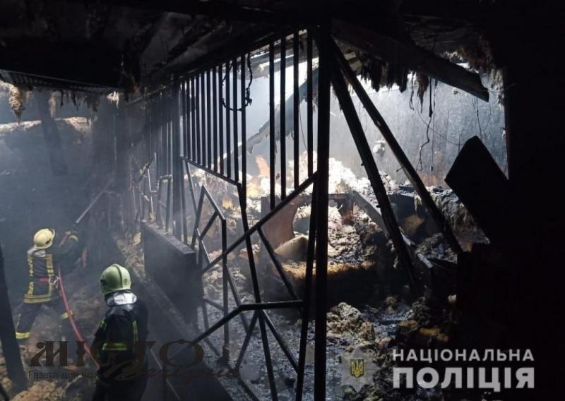 """Поліція відкрила кримінальну справу за фактом загорання у ТКЦ """"Княгині Ольги"""""""