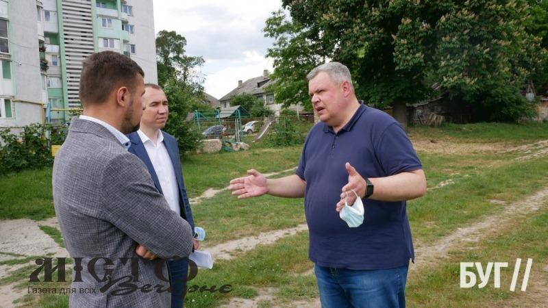 Біля педагогічного коледжу у Володимирі планують створити нову сучасну спортивну зону