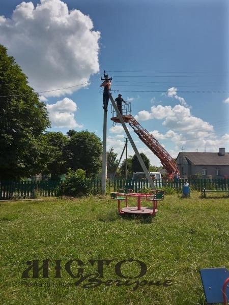 У клубі села Житані провели ремонт електромережі