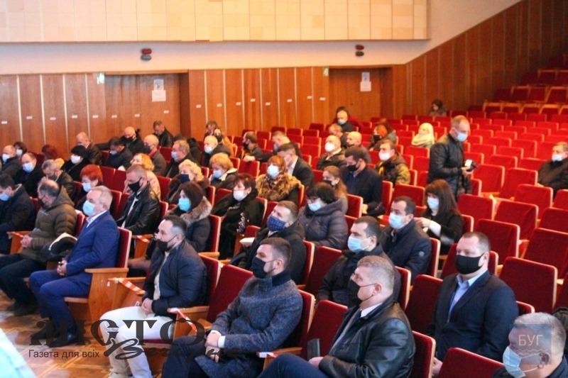 Розпочалася перша сесія новообраної Володимир-Волинської районної ради