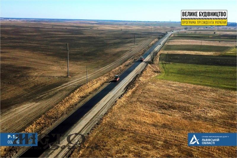 Розпочали ремонтні роботи на дорозі, що з'єднує Львівську та Волинську області