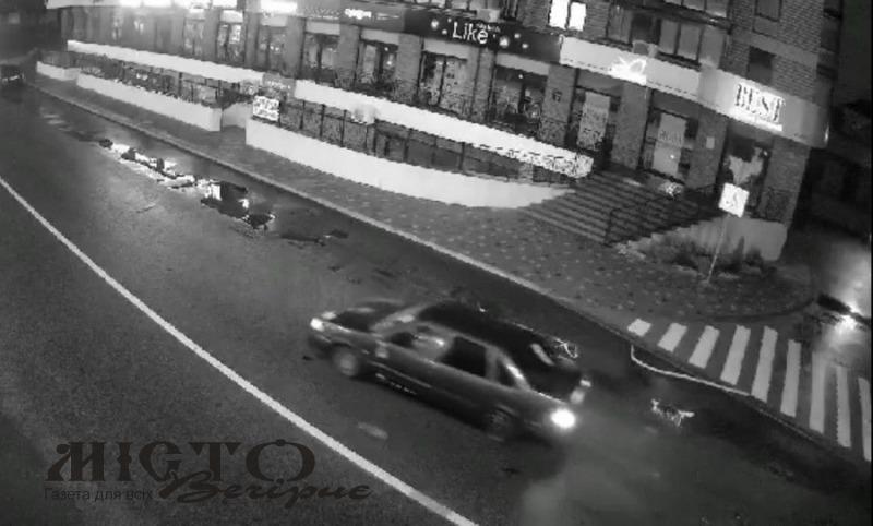 У Володимирі водій зніс дорожній знак