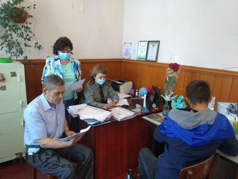 """У Володимирі провели профілактичну бесіду із умовно засудженими у """"Центрі пробації"""""""