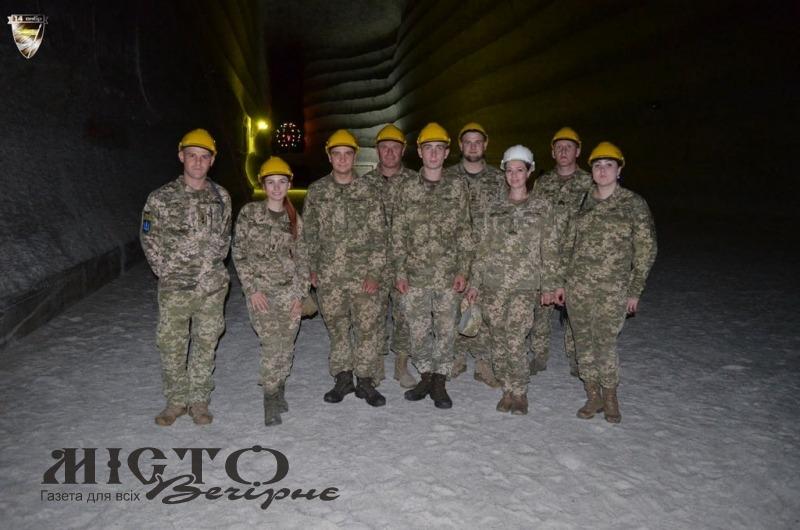 Військові 14 ОМБр побували в Соледарі