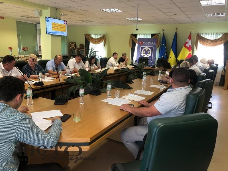 Відбулись загальні збори Волинського регіонального відділення Асоціації міст України