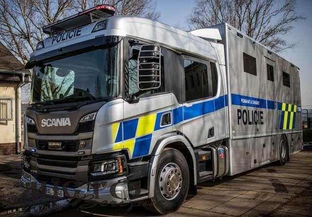 У Чехії виготовили вантажівку для поліції