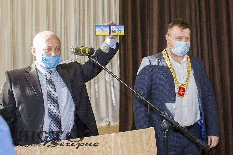 У Нововолинську відбулася перша сесія міськради після виборів.