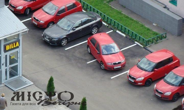 У Нововолинську порушники паркування сплатили штрафів на майже 200 тисяч гривень