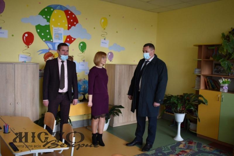 Голова Волинської ОДА навідався у відремонтовану школу села Зимне