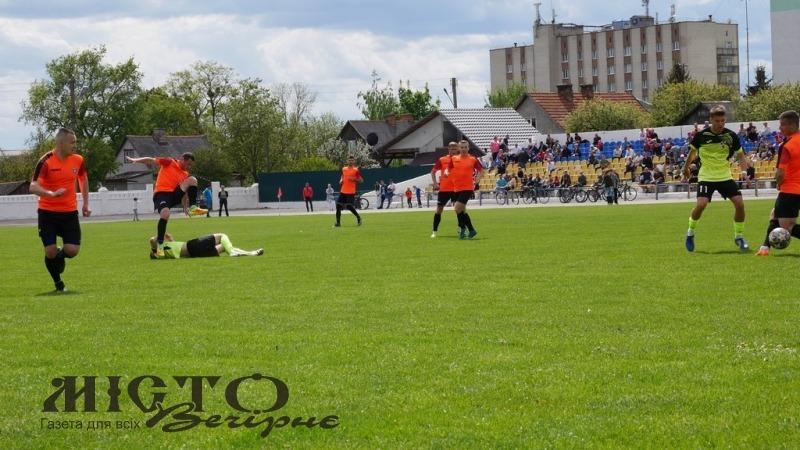 ФК «Володимир» програв нововолинській команді «Шахтар» на домашньому матчі
