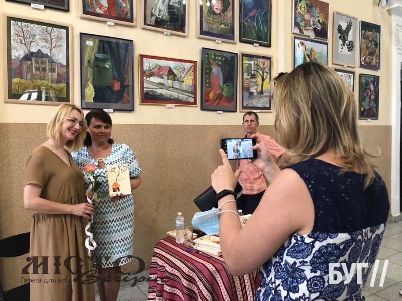У Володимирі відбулася презентація книги письменниці з Луцька
