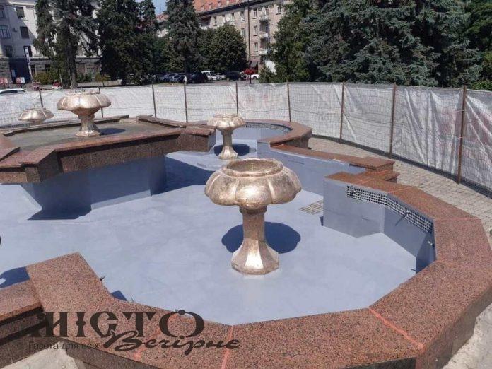 У Луцьку на обслуговування фонтану витратять понад 150 тисяч