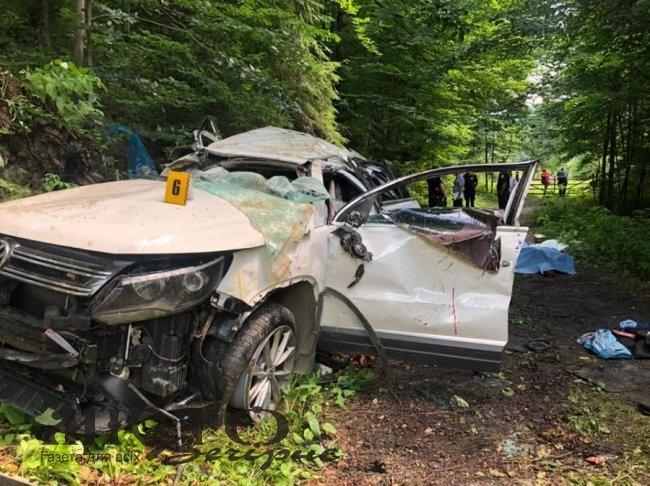 У місті Яремче в жахливій аварії загинуло 4 людей