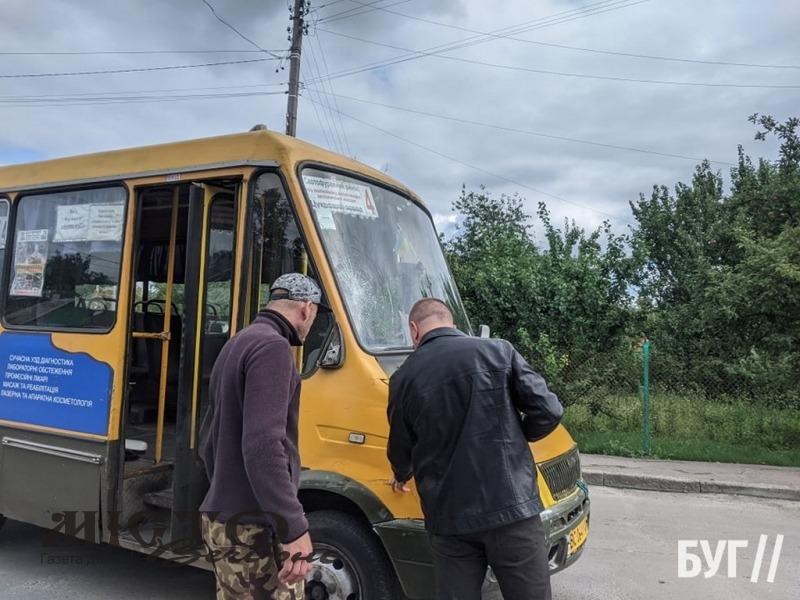 У Володимирі велосипедист потрапив під колеса маршрутки