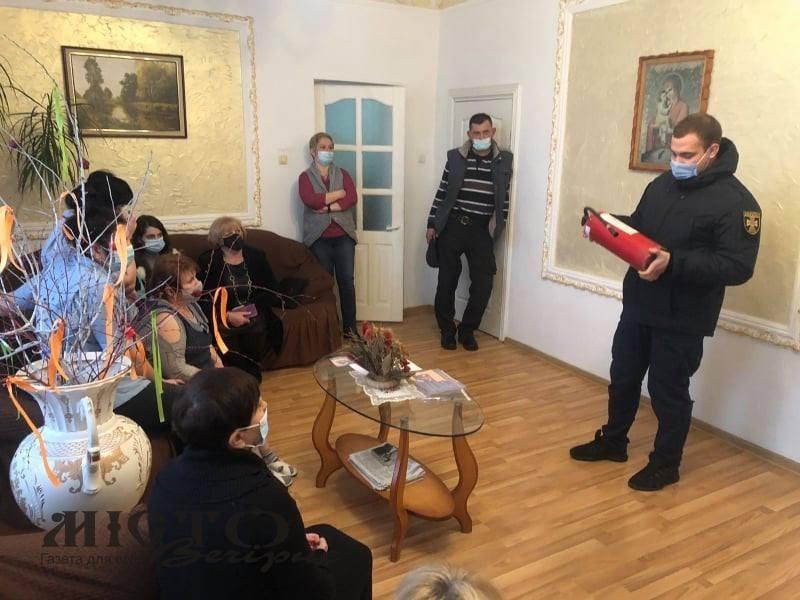 У Володимирі та Льотничому провели інформування щодо запобігання загибелі людей під час пожеж