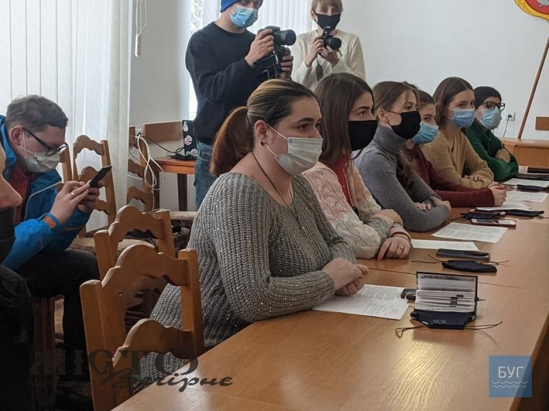 У Володимирі відбулось перше засідання молодіжної ради