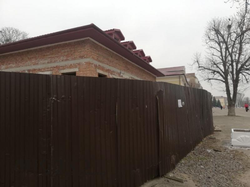У центрі Володимира облаштують громадськи вбиральні
