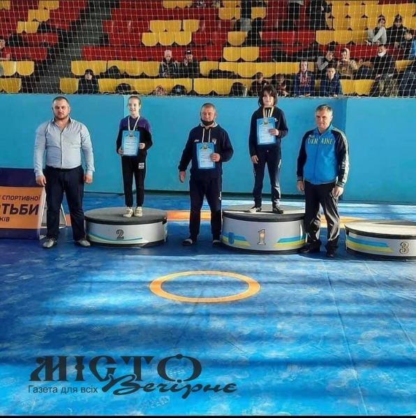 Волинянка стала переможницею чемпіонату України з вільної боротьби