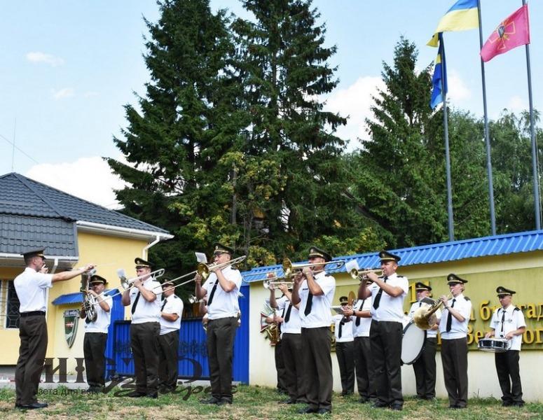 14 бригада привітала Володимир з Днем міста