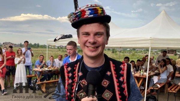 Телеведучий Комаров збудує дачу в Карпатах