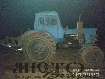 На Волині патрульні зупинили п'яного тракториста