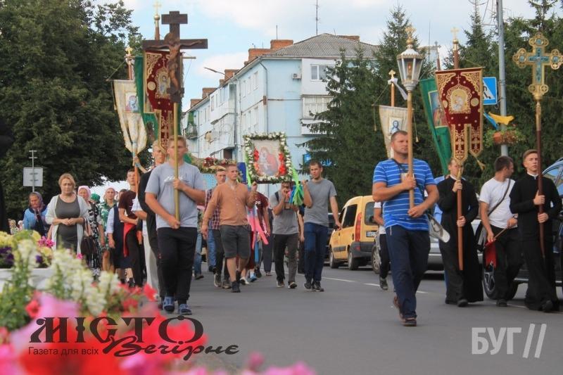 Через Володимир пройшла хресна хода, яка прямує до Почаєва