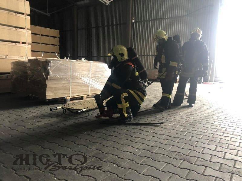 Володимир-Волинські рятувальники гасили умовну пожежу на Герборі