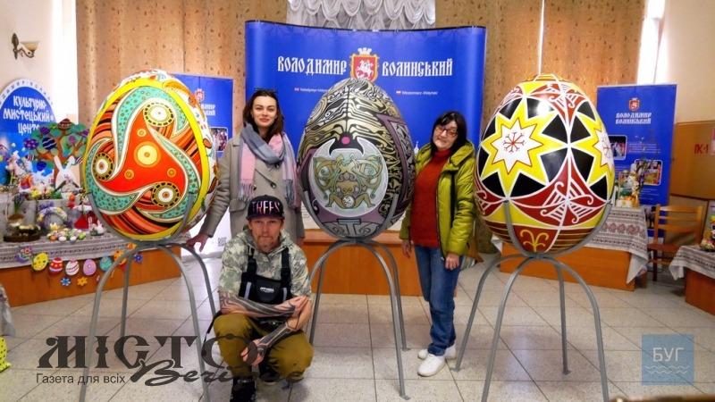 У Володимирі створять алею велетенських писанок