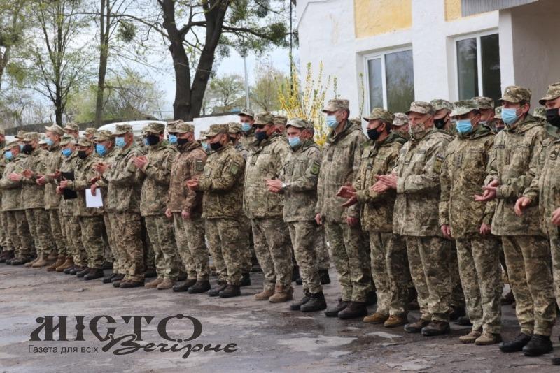 Військовослужбовці 39-го зенітно-ракетного полку повернулися у місце постійної дислокації