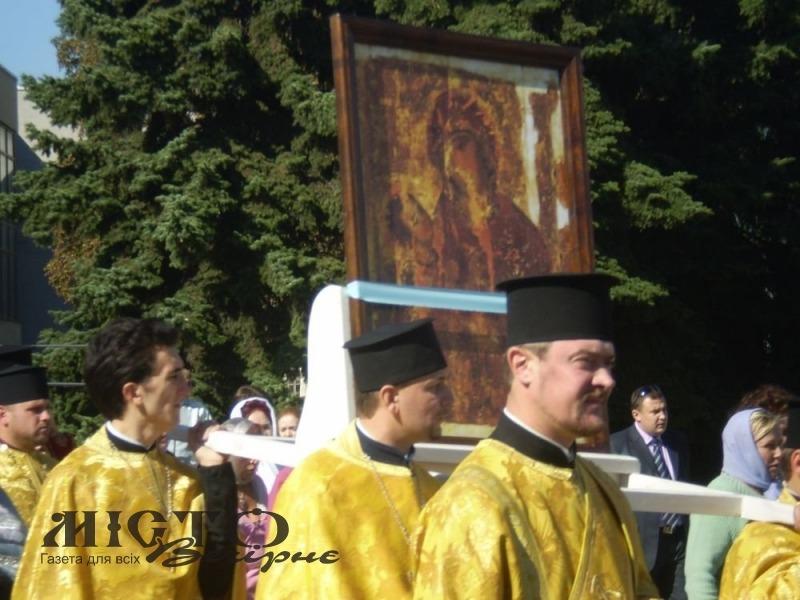 У Луцьку освятять копію Холмської Чудотворної ікони Богородиці