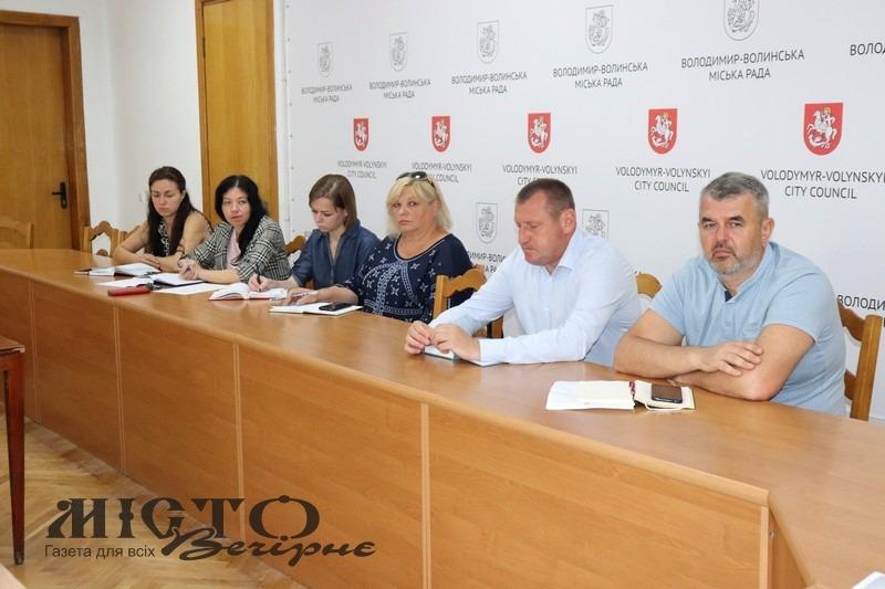 У Володимирі відбулось засідання оргкомітету з підготовки до Дня Незалежності