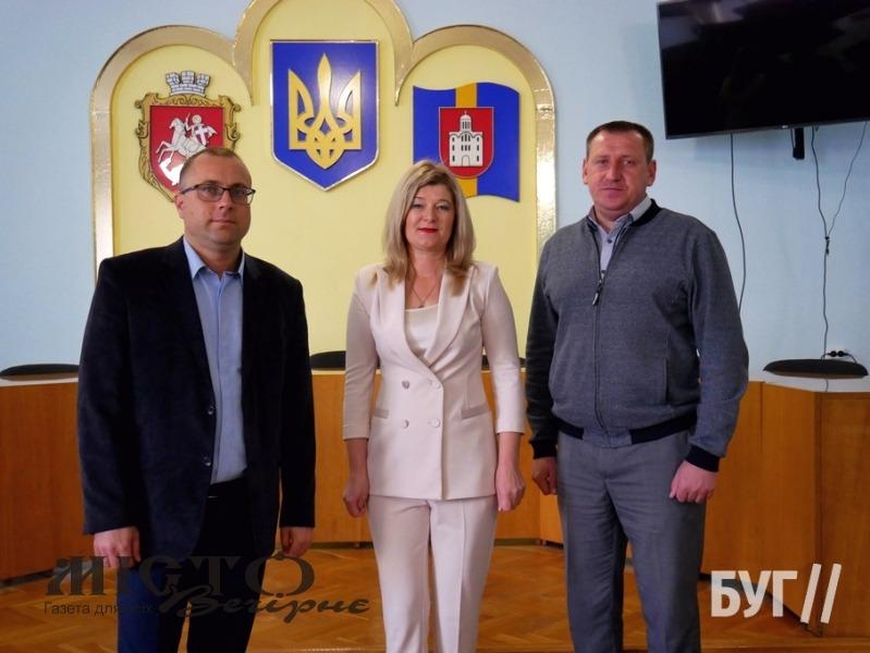 У Володимирі представили нових начальників гуманітарного управління
