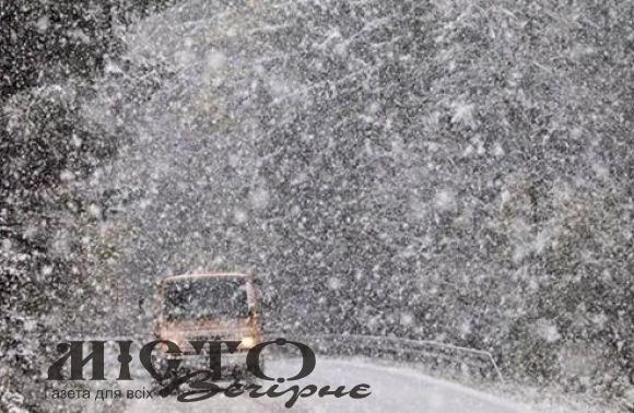 Жителів Володимира-Волинського попереджають про значне погіршення погодних умов
