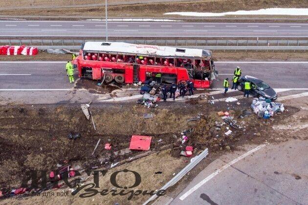 У ДТП в Польщі потрапив автобус з українцями