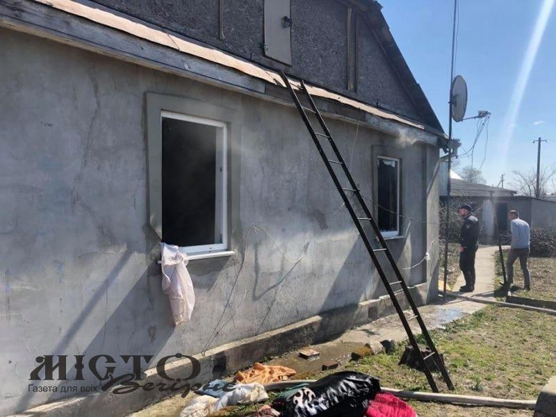 Через куріння у Володимирі горів житловий будинок
