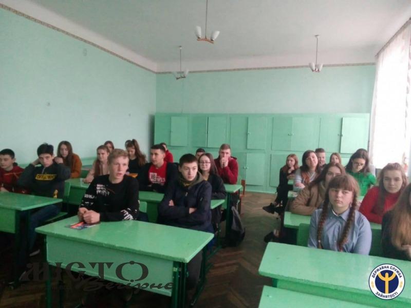 Старшокласників із Хобултови начали як обирати професію