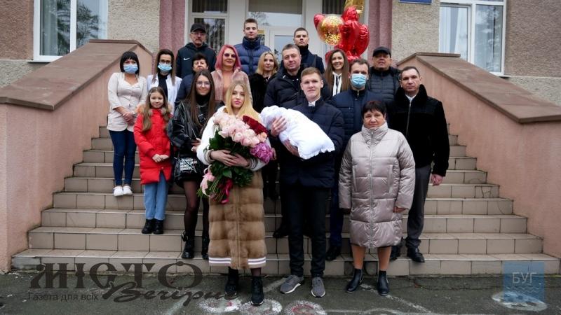 Перше у 2021 році маля забрали з Володимир-Волинського пологового будинку