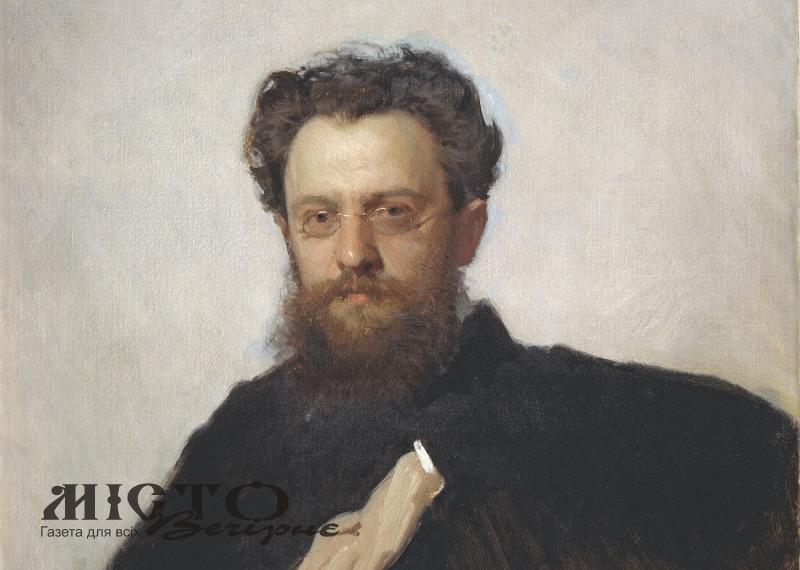 Професор Адріан Прахов (портрет роботи художника Івана Крамського).