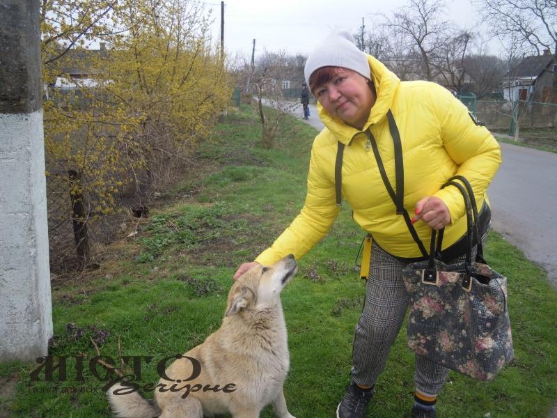 Світлана Віданова з однією із улюблениць – Ліндою.