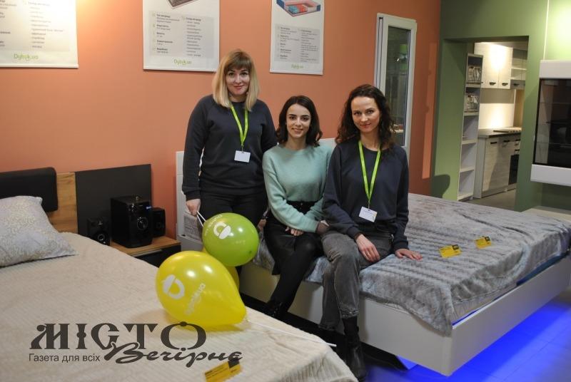 У Володимирі-Волинському відкрився новий магазин меблів українського виробництва