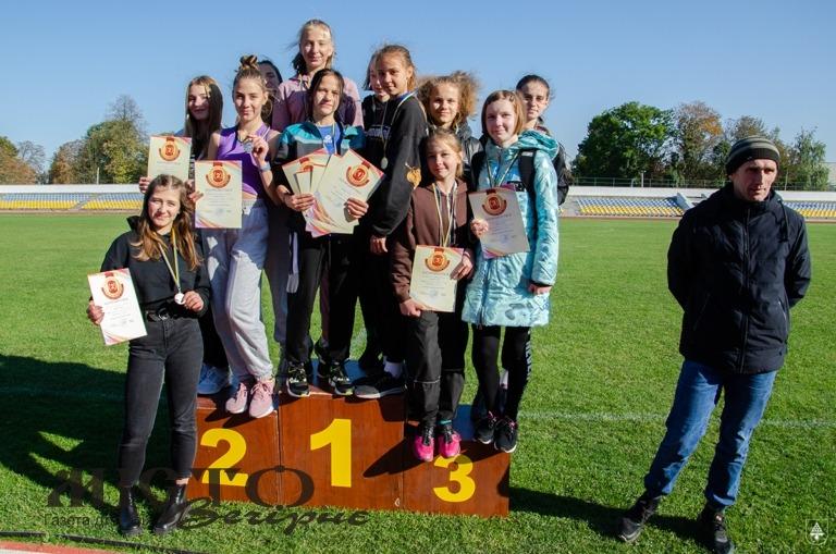 У Нововолинську провели турнір із легкої атлетики